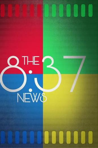 The 8:37 News Poster