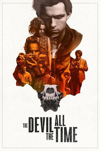 The Devil All the Time Poster