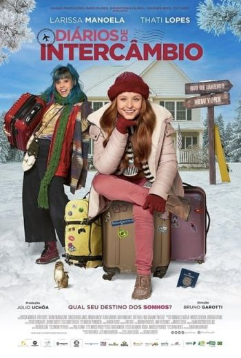 The Secret Diary Of An Exchange Student Poster