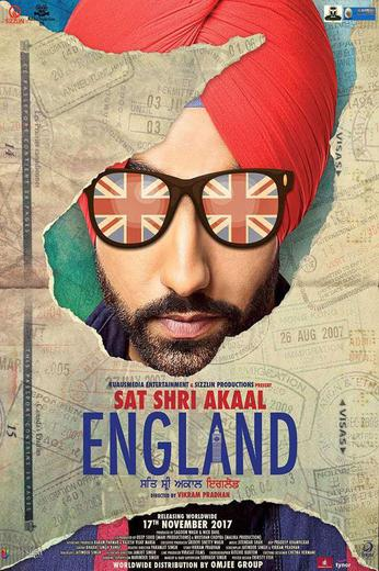 Sat Shri Akaal England Poster