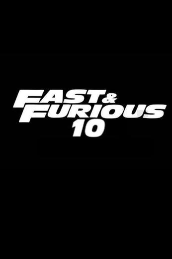 Fast & Furious 10 Poster