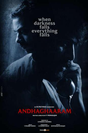 Andhaghaaram Poster