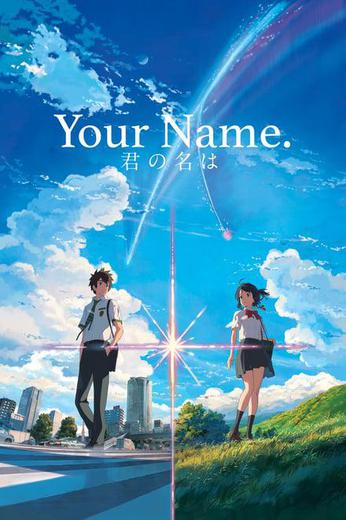 Your Name. Poster