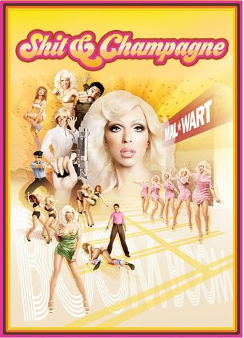 Shit & Champagne Poster