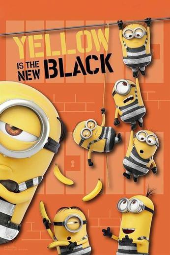 Yellow Is the New Black Poster