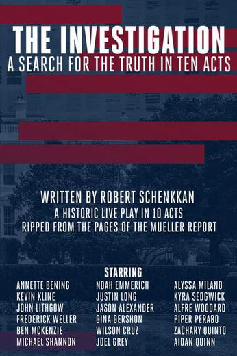 The Investigation: A Search for the Truth in Ten Acts Poster