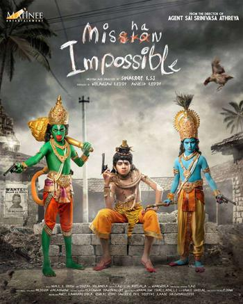 Mishan Impossible Poster
