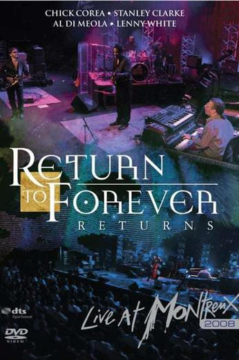 Return To Forever: Live At Montreux 2008 Poster