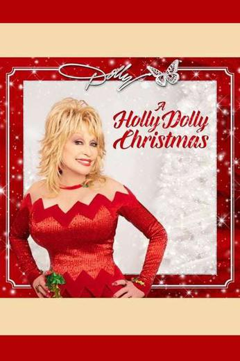 A Holly Dolly Christmas Poster