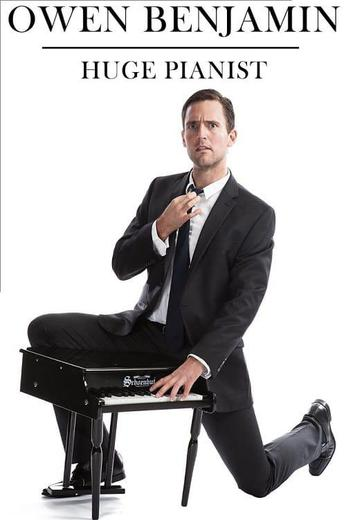 Owen Benjamin: Huge Pianist Poster