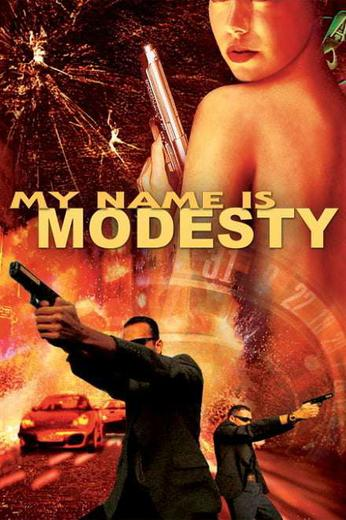 My Name Is Modesty: A Modesty Blaise Adventure Poster