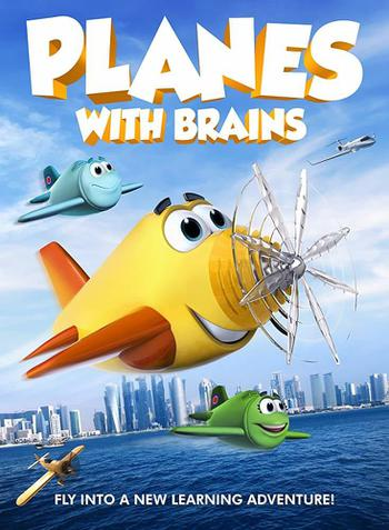 Planes with Brains Poster
