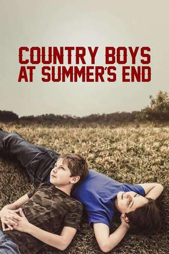 Country Boys at Summer's End Poster