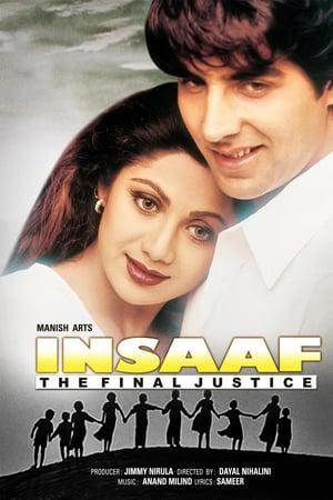 Insaaf: The Final Justice Poster