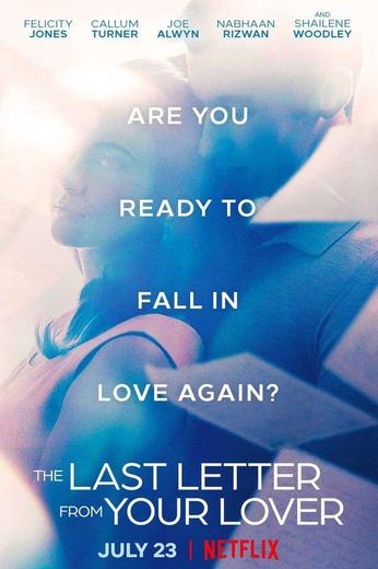 The Last Letter From Your Lover Poster