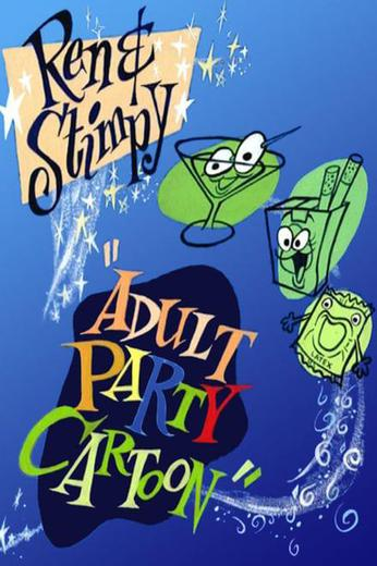 "Ren & Stimpy ""Adult Party Cartoon"" Poster"